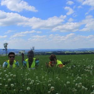 11. Fotoshooting auf der blühenden Wiese mit Alisena, Zeki und Seev-1024