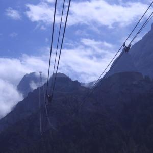 38. Fahrt mit der Tiroler Zugspitzbahn in 2962 m Höhe-1024