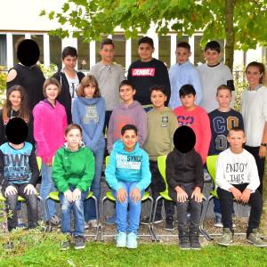Klasse 6a mit Frau Ganzenmüller