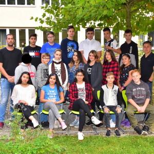Klasse 7b mit Herrn Lindner und Herrn Rometsch