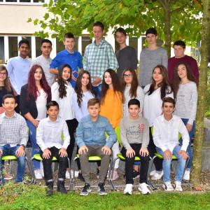 Klasse 8a mit Frau Häcker