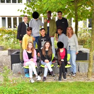 Klasse VKL F mit Frau Toupheksis